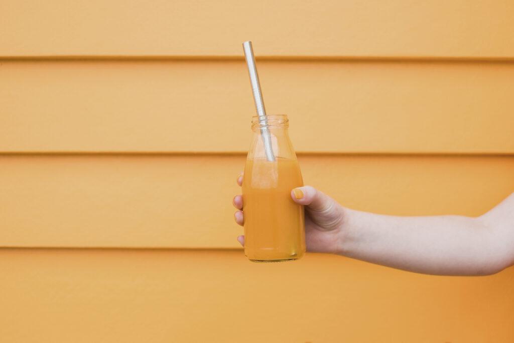 Florida sunshine grapefruit smoothie