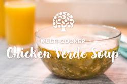Multi Cooker Chicken verde Soup