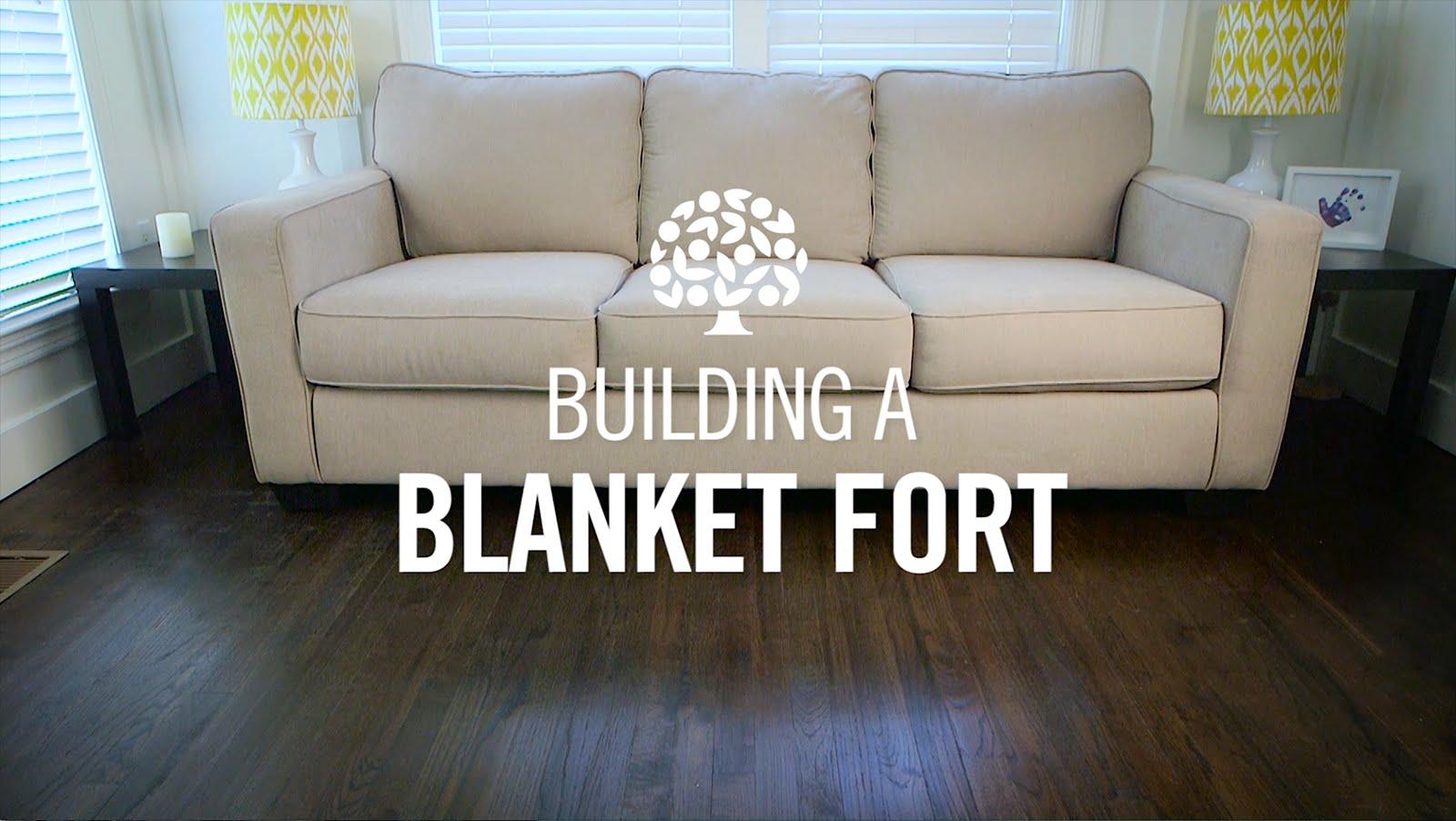 Traditional Blanket Fort Florida Orange Juice