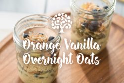 Orange Vanilla Overnight Oats