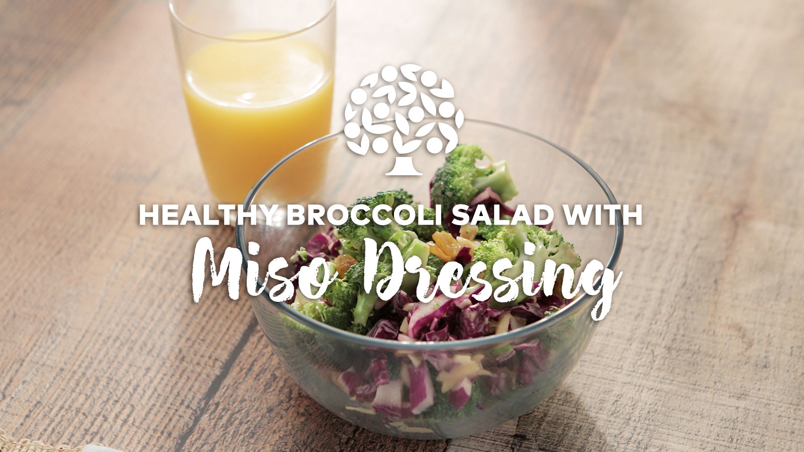 Broccol iMiso Salad