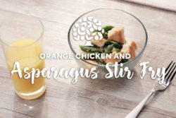 Orange Chicken Asparagus Stir Fry