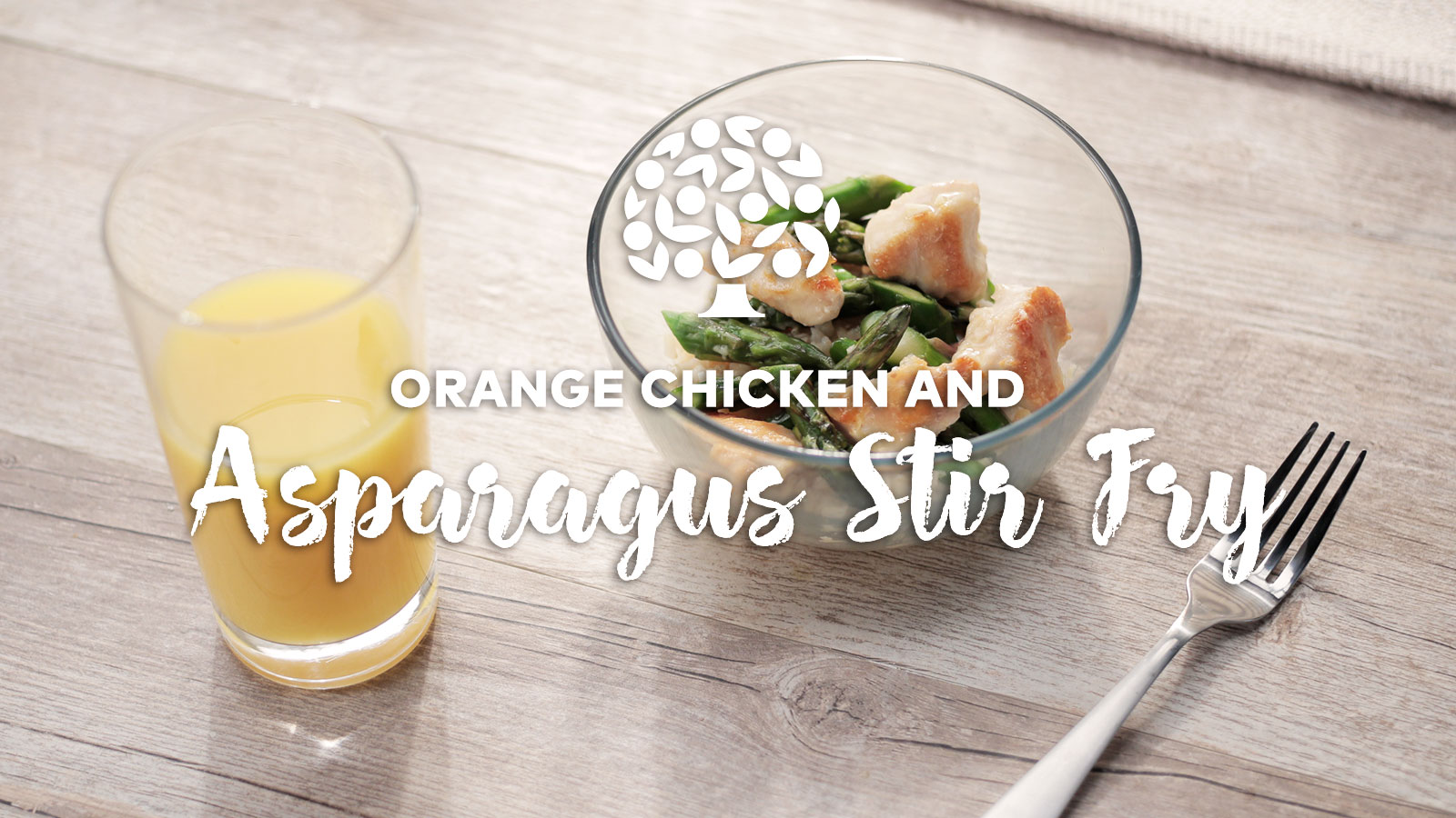 Orange Chicken Asparagus Stir Fry