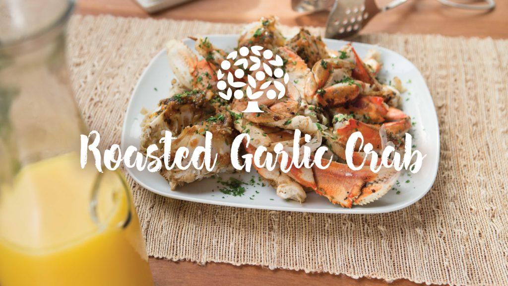 Roasted Garlic Crab