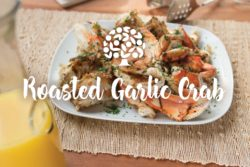 Roasted Garlic Crab