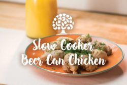 Slow Cooker Beer Can Chicken
