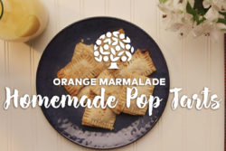 orange marmalade homemade pop tart