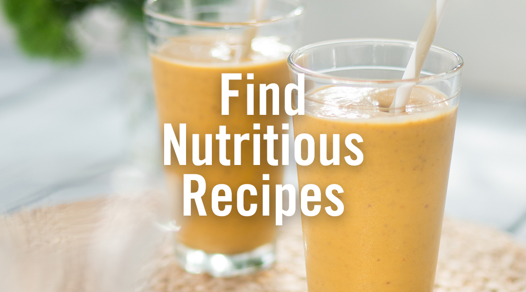 Find Nutritious Recipes