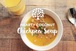 image of heart coconut chickpea soup recipe